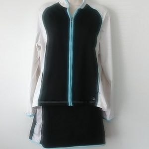 Izod Woman's Active Wear Skort Shorts &Jacket